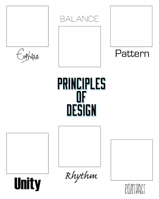 Printables Elements And Principles Of Art Worksheet elements and principles of design ms yostbhs picture